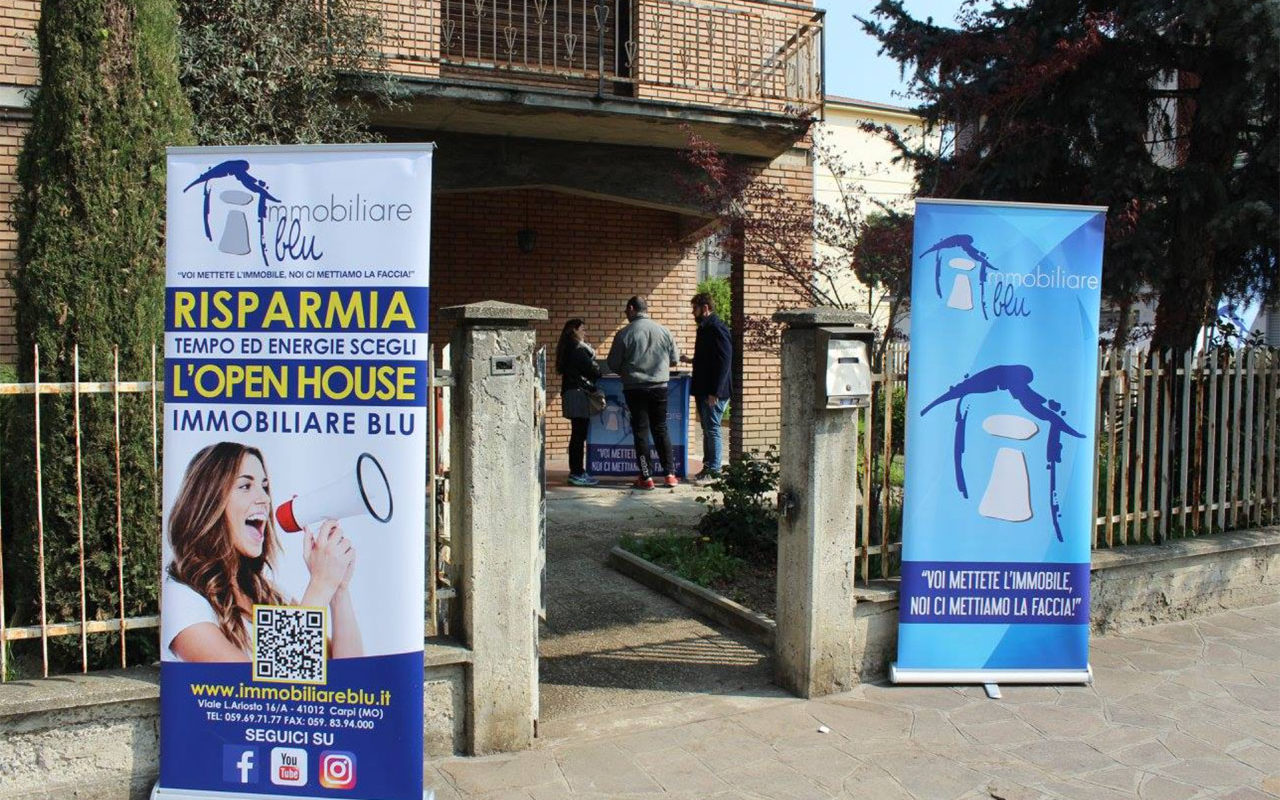 Agenzia Immobiliare Blu Carpi - Vendita Immobili - Casa in vendita - Open House