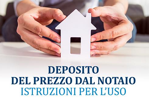 Agenzia Immobiliare Blu Group Carpi - Deposito del prezzo dal Notaio